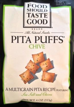 Food Should Taste Good - Chive Pita Puffs