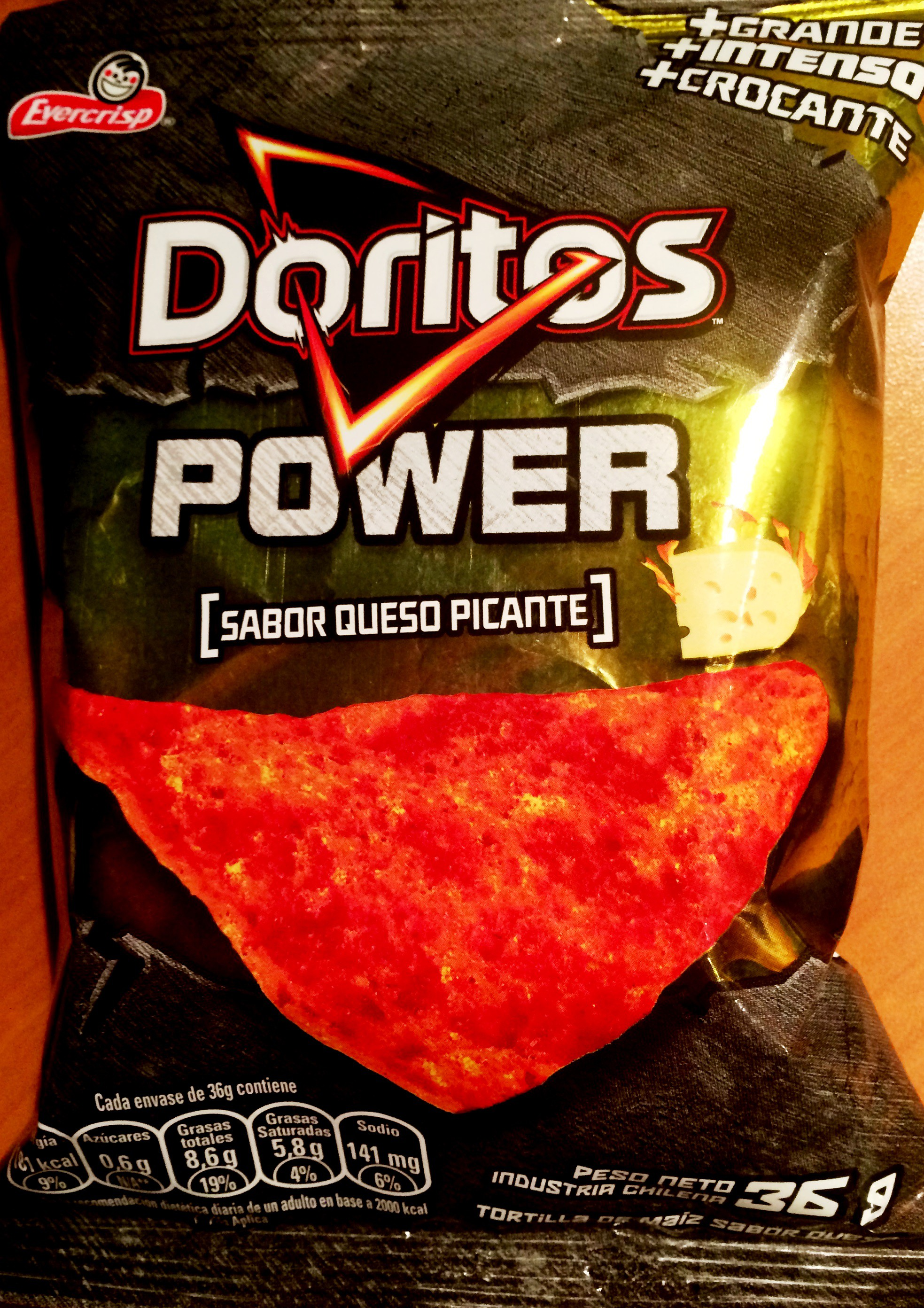 Doritos Power – Queso Picante | Chip Review 3d Doritos