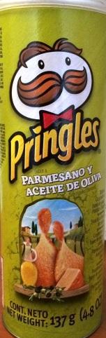 Pringles - Parmesan & Olive Oil