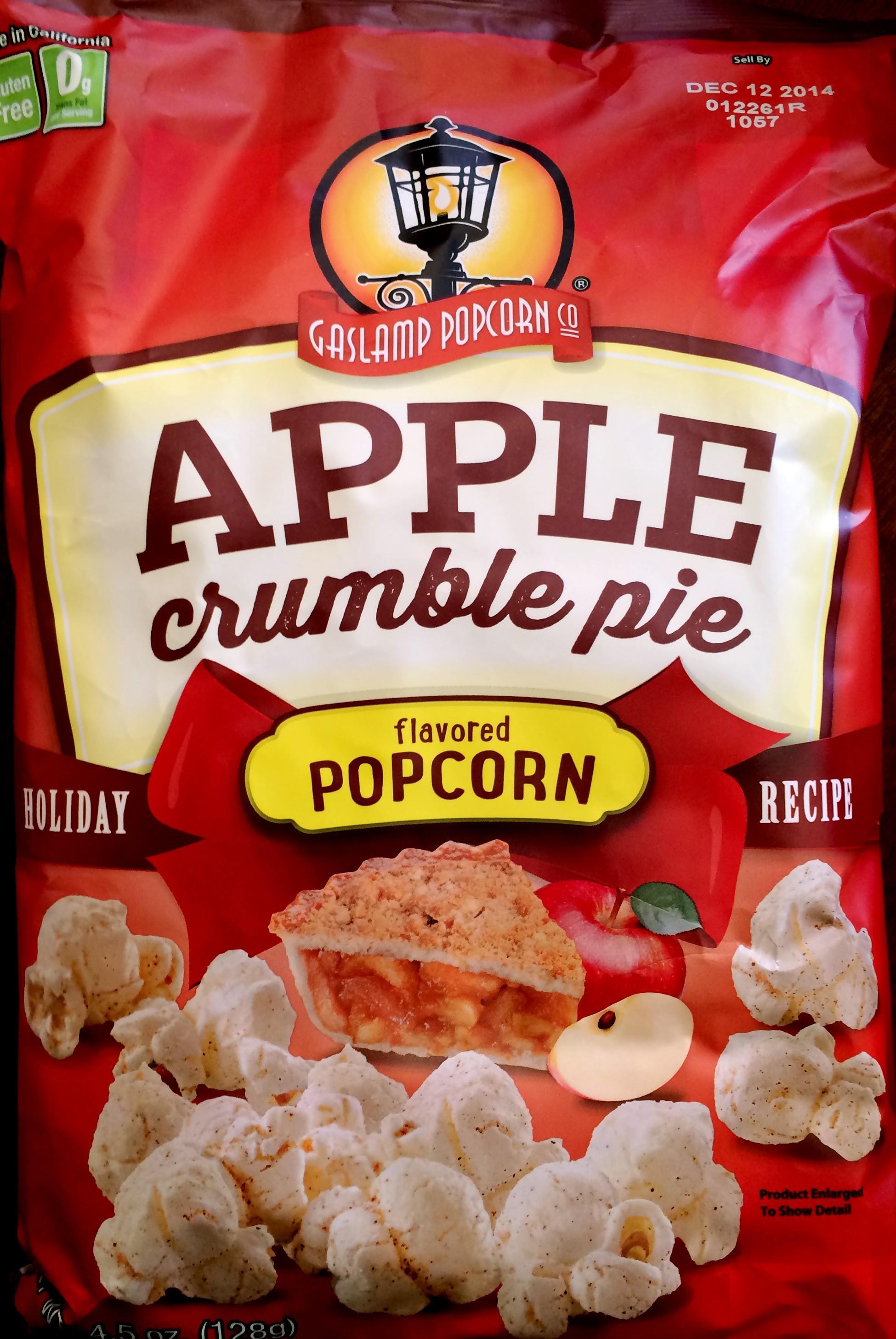 ... : Gaslamp Popcorn Co. – Apple Crumble Pie Popcorn | Chip Review