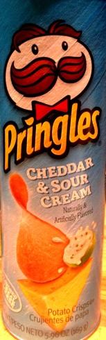 Pringles - Cheddar & Sour Cream