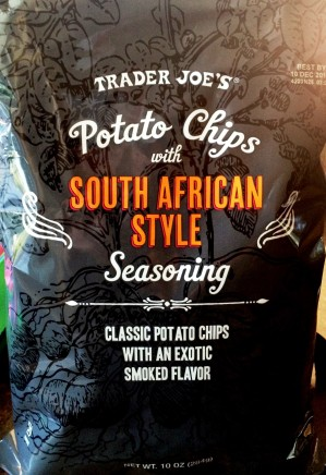 Trader Joe's - Potato Chips with South African Style Seasoning