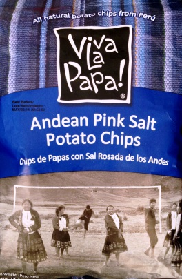 Viva la Papa! - Andean Pink Salt Potato Chips