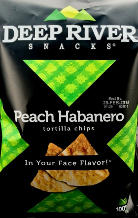 Deep River Snacks - Peach Habanero Tortilla Chips