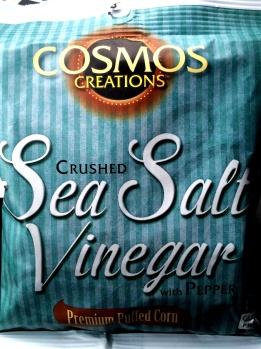 Cosmos - Crushed Sea Salt Vinegar & Black Pepper Puff Corn