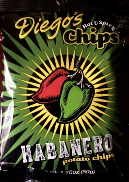 Diego's Hot & Spicy Chips - Habanero