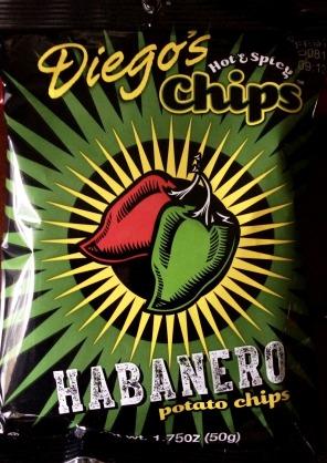 Diego's Hot & Spicy Chips - Habanero