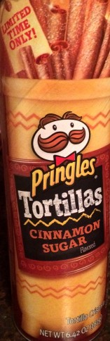 Pringles Tortillas - Cinnamon Sugar