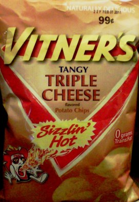 Vitner's - Tangy Triple Cheese - Sizzlin' Hot