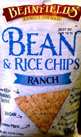 Beanfield's - Ranch Bean & Rice Chips