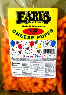 Earl's - Cheese Puffs
