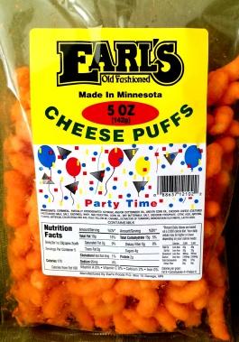 Earl's - Cheese Puffs