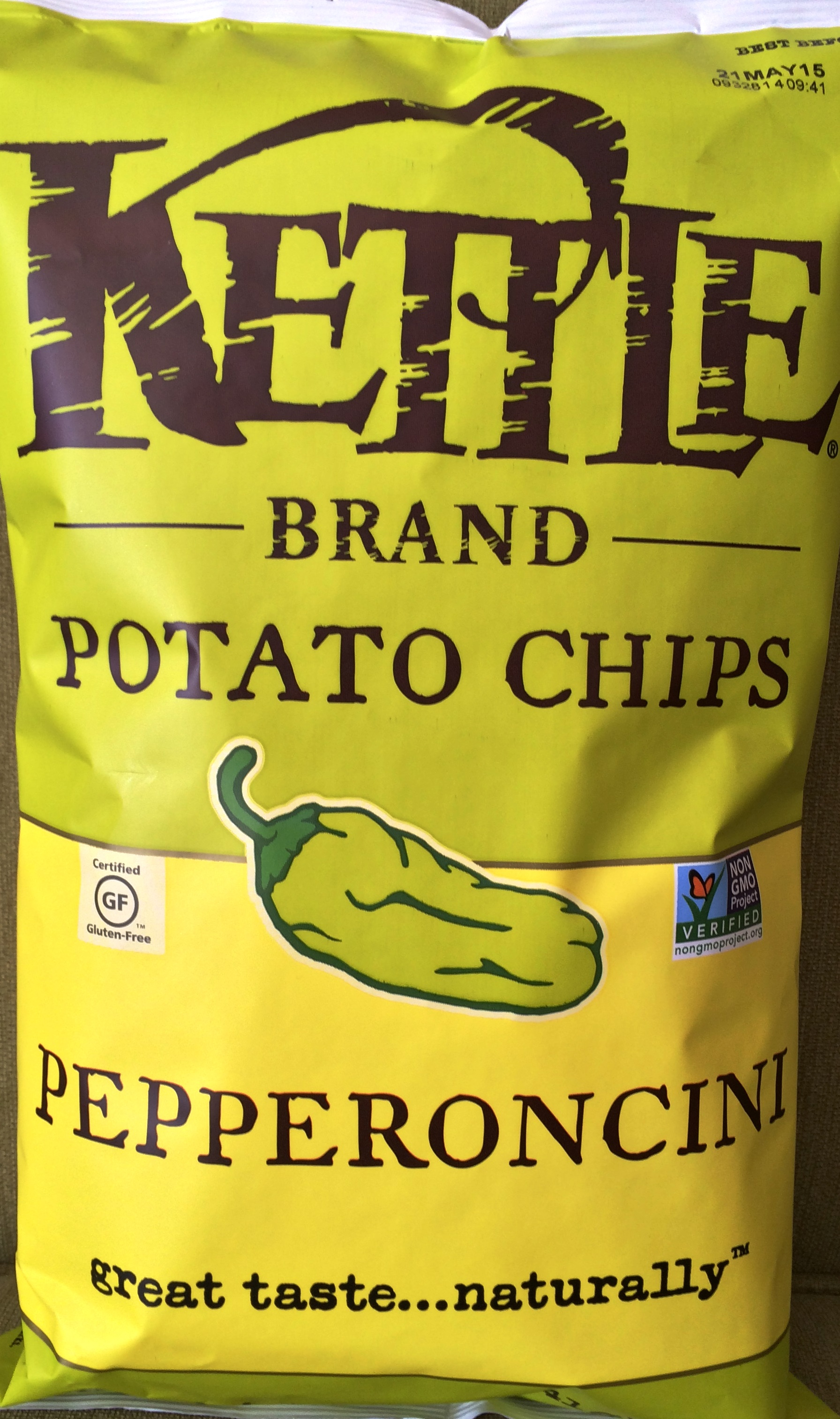 Review Kettle Brand Pepperoncini Potato Chips Chip Review