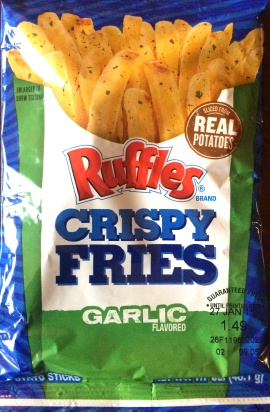 Ruffles Crispy Fries - Garlic