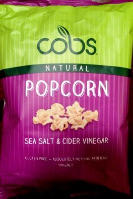 Cobs - Sea Salt & Cider Vinegar Popcorn