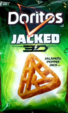Doritos Jacked 3D - Jalapeno Pepper Jack