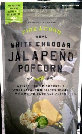 Fire Corn - White Cheddar Jalapeno Popcorn