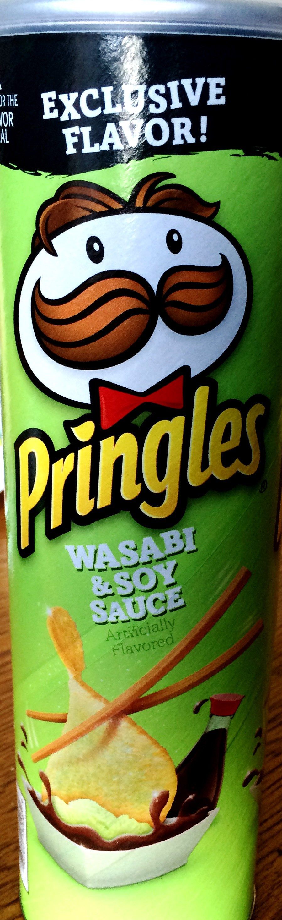 review pringles exclusive flavor wasabi soy sauce