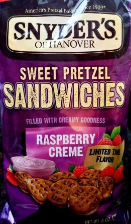 Snyder's of Hanover - Raspberry Creme Sweet Pretzel Sandwiches