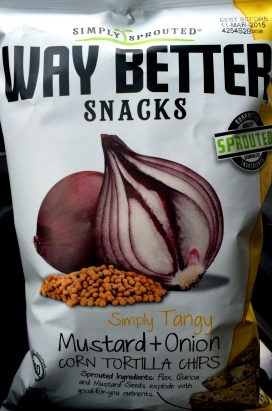 Way Better Snacks - Mustard Onion