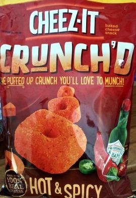 Cheez-it Crunch'd - Hot & Spicy