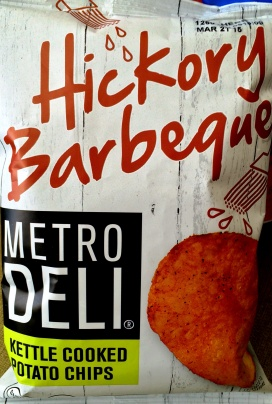 Metro Deli - Hickory Barbeque Kettle Cooked Potato Chips