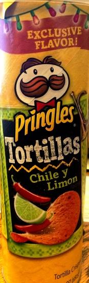 Pringles Tortillas - Chile y Limon