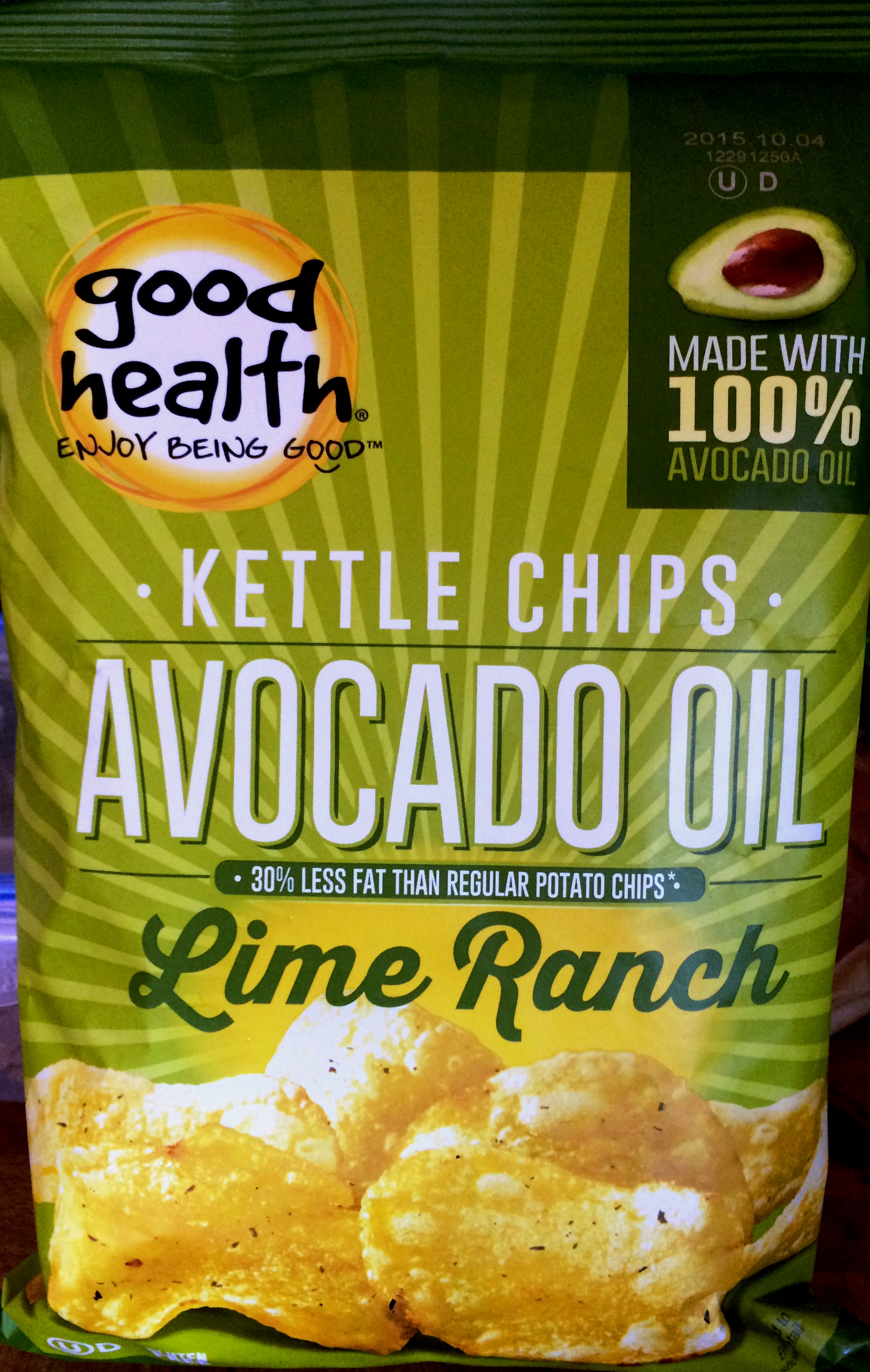Why Chips Are Good Good Health Lime Ranch Avocado Oil Kettle Chips