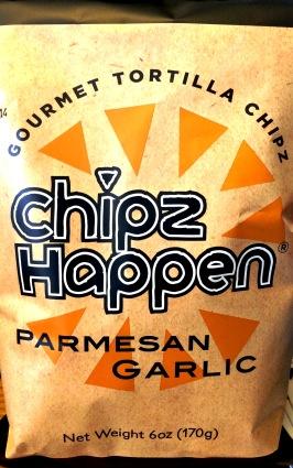 chipz happen - parmesan and garlic