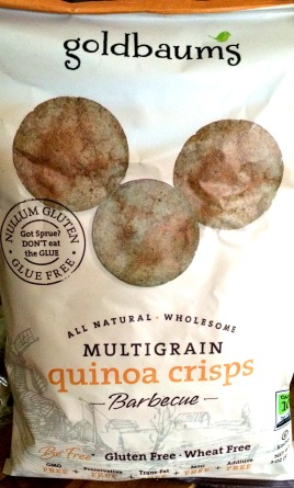 Goldbaum's - Barbecue Quinoa Crisps