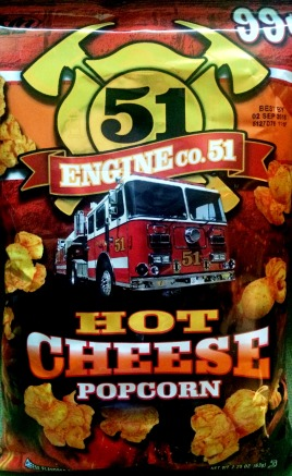 Engine No. 51 - Hot Cheese Popcorn