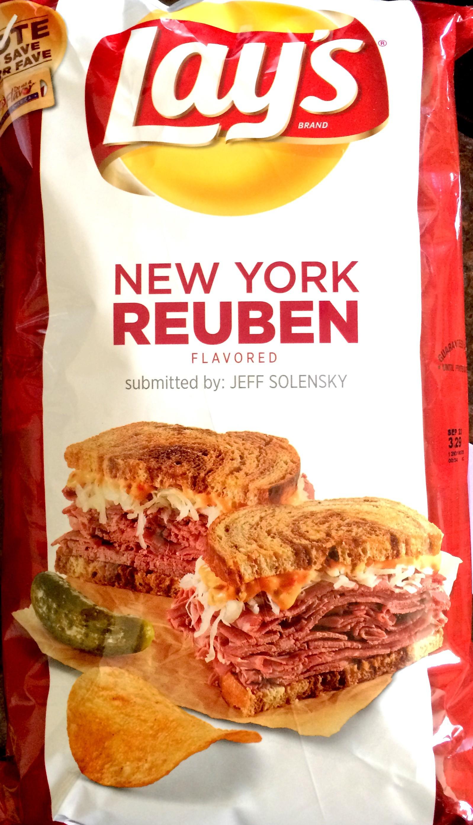 Do Us A Flavor Chip Review Paldo Bowl Noodle Shrimp 86 Gram Lays New York Reuben