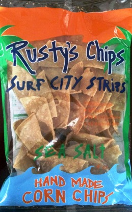 Rusty's Chips - Surf City Strips Corn Chips