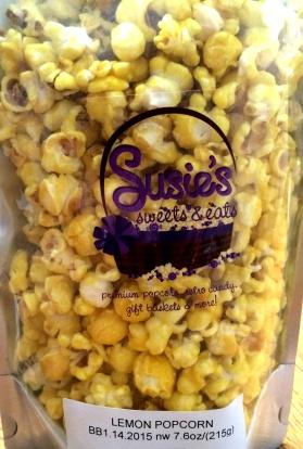 Susie's Sweets & Eats - Lemon Popcorn