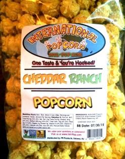 International Popcorn - Cheddar Ranch