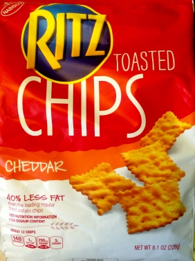 Ritz - Cheddar Toasted Chips