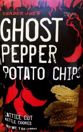 Trader Joe's - Ghost Pepper Lattice Cut Potato Chips