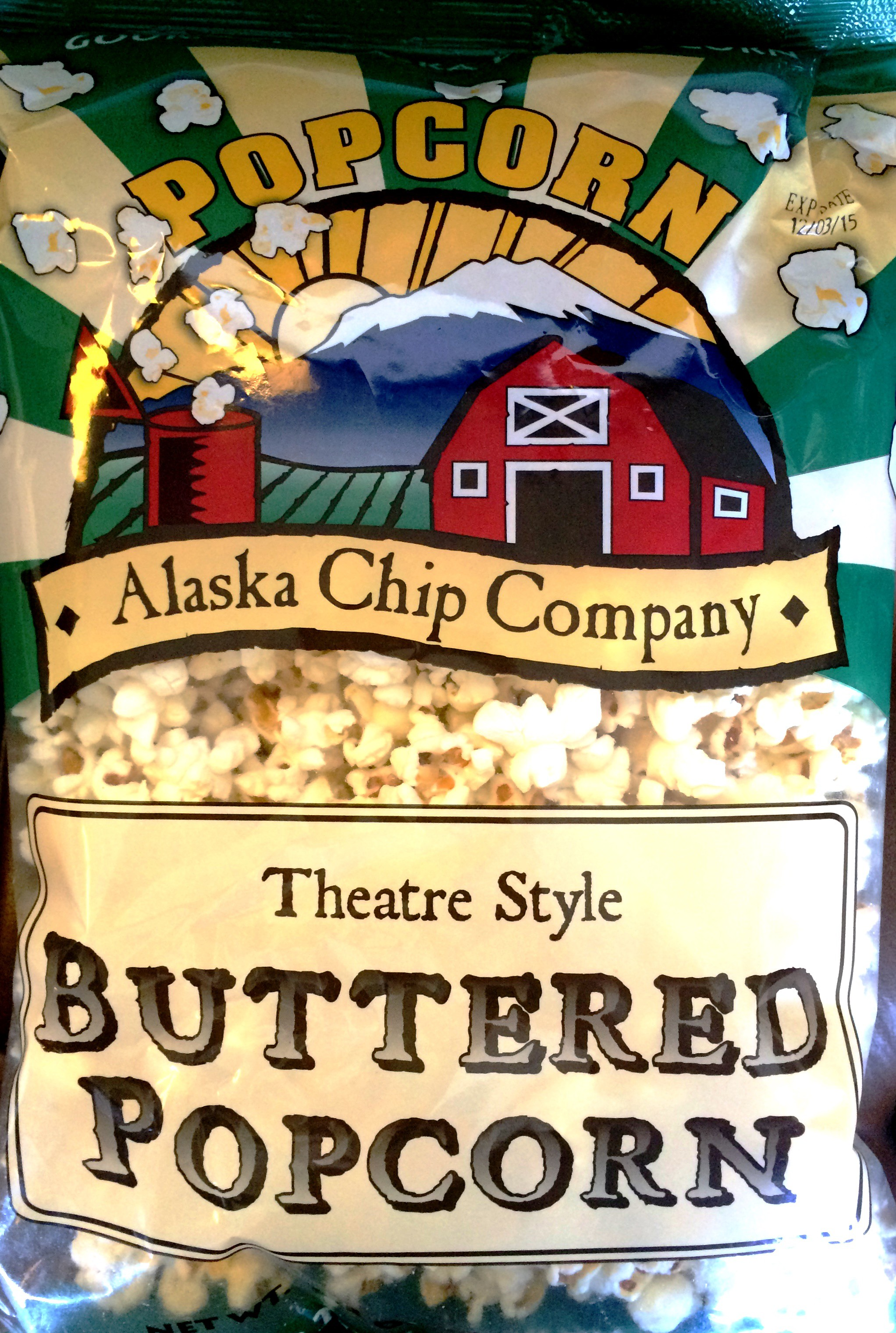Review Alaska Chip Company Theatre Style Buttered Popcorn Chip Review