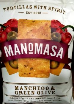 Manomasa - Manchego & Green Olive
