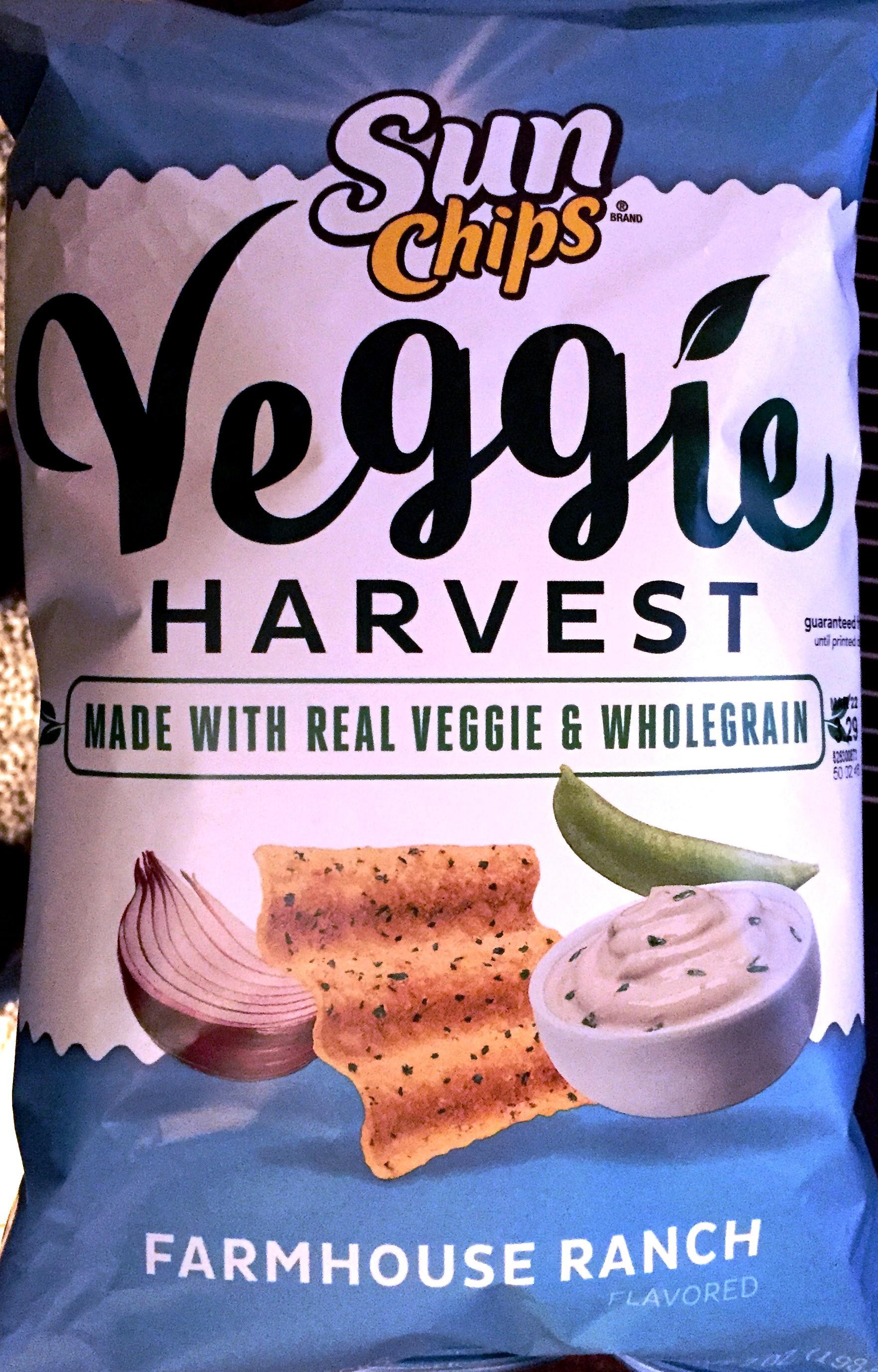 Bijou Review Sun Chips Veggie Harvest Farmhouse Ranch Chip Review