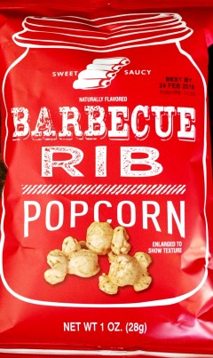 Target - Sweet Saucy Barbecue Rib Popcorn