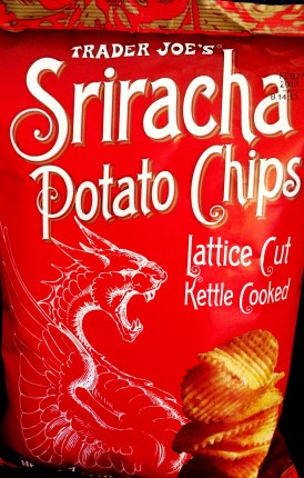 Trader Joe's Lattice Cut - Sriracha