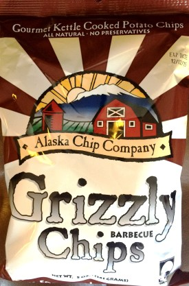 Alaska Chip Co. - Grizzly Barbecue Chips