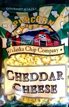 Alaska Chip Company - Cheddar Cheese Popcorn