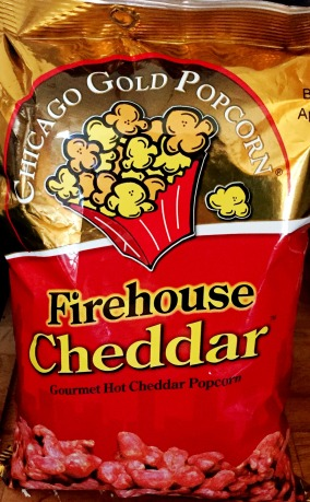 Chicago Gold Popcorn - Firehouse Cheddar