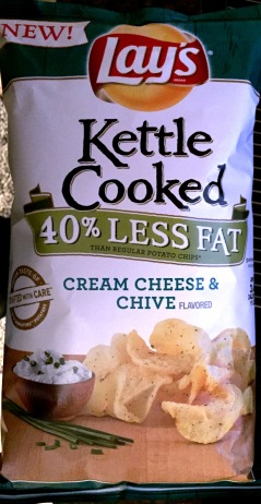 Lay's Kettle Cooked - Cream Cheese & Chive