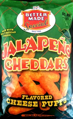 Better Made Jalapeno Cheddar Cheese Puffs