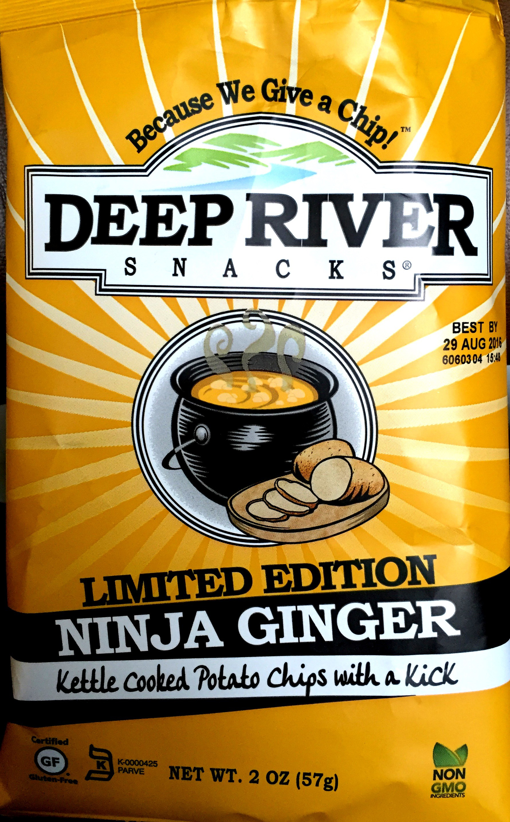 Review Deep River Snacks Limited Edition Ninja Ginger
