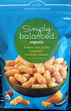 Simply Organic - Jalapeno Cheddar Puffs