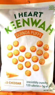 I Heart Keenwah - Aged Cheddar Quinoa Puffs